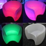 Beleuchtetes magisches Farben-Blinkensofa mit LED-Licht