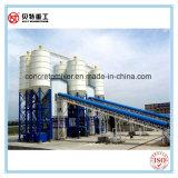 Concrete het Groeperen van de Machine van de bouw Installatie 50m3/H (HZS50) met 1m3 Mixer