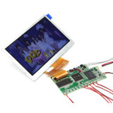 중국 제조자 영상 브로셔 인사장 모듈을%s Handmade 4.3 인치 색깔 낮은 힘 LCD 전시 화면 모니터