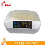 Hhd usine Mini-incubateur d'oeufs de volaille automatique de 32 yz-32