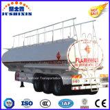 La Chine 3 de l'essieu/de carburant diesel/essence/de pétrole brut/essence pétrolier de la route de l'utilitaire/camion-citerne semi-remorque du tracteur pour la vente