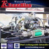 CNC Hydraulische Waterjet Machine voor Ceramische de Koolstof van het Aluminium van het Roestvrij staal