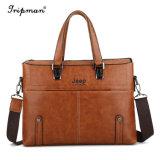 Fashionabel Ecoの人のための革ブリーフケースのショルダー・バッグのメッセンジャー袋