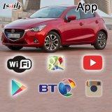 Caixa preta caixa de navegação GPS para a caixa de interface de vídeo multimédia Mazda2