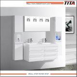 Banho de MDF Branco Brilhante vaidade TM8142A