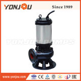 Pompa centrifuga sommergibile delle acque di rifiuto