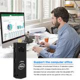 Intelligenter Fernsehapparat-Win10 Computer-Stock Stock 2GB 32GB T5 intelligenter Mini-PC Intel-Z8350