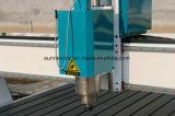 캐비넷 문 나무로 되는 문 4 축선 목제 CNC 대패 CNC 조각 기계 CNC