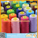 Naaiende Draad van de Polyester van 100% de Tfo Gesponnen voor de Slijtage van Kinderen