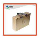 Rígido impermeable Vestido de Boda Regalo cajas de embalaje con cinta