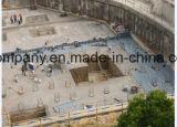 Het versterkte Polyvinyl Dak van de Stichting van het Membraan van het Chloride (pvc) Waterdichte van Bouwmaterialen