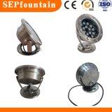 Indicatore luminoso subacqueo subacqueo del raggruppamento dell'indicatore luminoso LED della fontana dell'indicatore luminoso LED di alto potere LED dell'indicatore luminoso del punto della fontana dell'indicatore luminoso della fontana