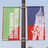屋外の道の柱の静的な旗のハードウェア