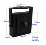 960p CMOS P2p Onvif MiniSchroef/IP van de Speldeprik Camera voor ATM