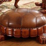 Ottomano di cuoio classico per mobilia domestica (83)