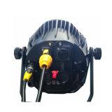 Powercon extraíble 14x18W RGBWA+UV 6en1 LED impermeable PAR