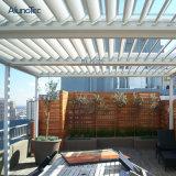 Design exclusivo Sombreamento Sun Pergola do teto com frestas para o pátio