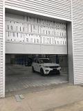 Isolation thermique des frais généraux motorisé de porte de garage sectionnelles industrielles