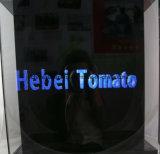 42cmのホログラフィック表示3D LEDファン屋内広告機械