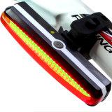 LED RECHARGEABLE USB 26COB vélo Vélo de queue de feu arrière