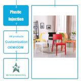 Tabela plástica personalizada da mobília da sala de visitas dos produtos e modelação por injeção ajustada da cadeira