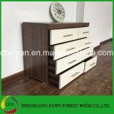Caixa de gavetas de madeira para o uso Home