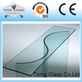Glace en verre/Tempered personnalisée/verre trempé/glace incurvée