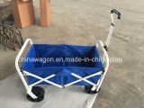 Vagão de praia de dobramento da roda larga preta