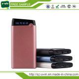 10000mAh携帯電話の供給、移動式電源のためのクレジットカード力バンク