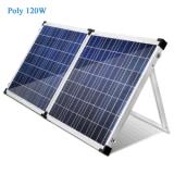 100W 앤더슨 플러그로 야영을%s 휴대용 태양 에너지 시스템