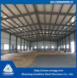 Schnelles Aufbau-Stahlkonstruktion-industrielles Lager
