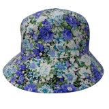 Chapéu da cubeta com tela floral (BT023)
