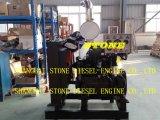 Motor Diesel Cummins 4BTA3.9 6BTA5.9 Motor Diesel con Panel de Control y Radiador para la Industria
