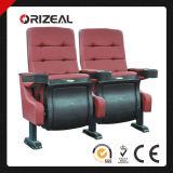Assento justo do cinema da cadeira do cantão de Orizeal com suportes de copo