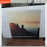 Vidro temperado de pintura digital de 4-19 mm para pintura mural