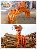 360油圧回転は掘削機の材木の回転グラブのために取り組む