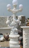 La sculpture en pierre sculptée Statue Ornement de jardin avec du marbre granit grès (sy-X1152)