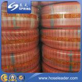 Transparent PVC Steel Wire Huile renforcée Tuyau de décharge industrielle