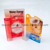 Personalizado caja plegable de PVC para lápiz delineador de ojos con UV Impresión