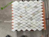 Mattonelle di mosaico dorate del marmo dell'oro di Calacatta delle mattonelle di mosaico