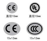 Kundenspezifische Drucken Belüftung-Kennsätze für chemische Produkte