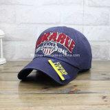 Gorra de béisbol bordada de encargo de calidad superior del bordado (FCAP-0013)