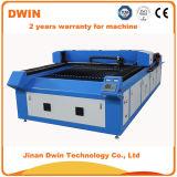 Tissu de découpage de laser de CO2 du CCD 100W/cuir/vente 1325 de tissu/vêtement