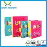La coutume de haute qualité Mini sac de papier cadeau Commerce de gros