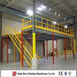 Plate-forme en acier pour la crémaillère d'entrepôt