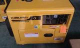5kw 5kVA 5000W Diesel silencioso Generador Portátil tipo insonorizadas