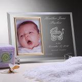De Dag van het doopsel keurt Frame van de Foto van het Beeld van het Glas van het Kristal van de Douane het Gepersonaliseerde voor de Giften van de Baby goed