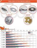 цена автомата для резки лазера волокна листа металла 300With500W