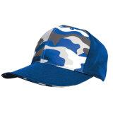 Cappelli blu in bianco su ordinazione del berretto da baseball di Camo