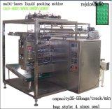Macchina imballatrice dell'inserimento liquido della salsa di quattro righe (DXDY-480Y)